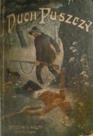 Okładka książki Duch puszczy - opowiadanie z borów amerykańskich
