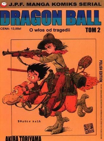 Okładka książki Dragon Ball tom 2. O włos od tragedii