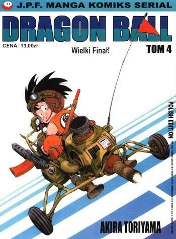 Okładka książki Dragon Ball tom 4. Wielki Finał!