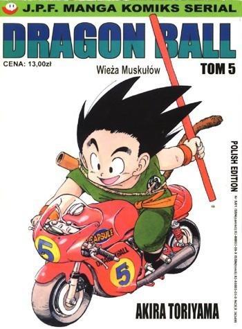 Okładka książki Dragon Ball tom 5. Wieża Muskułów