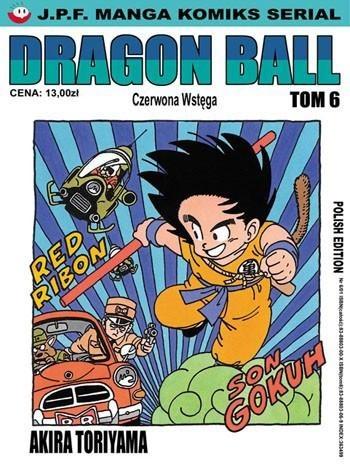Okładka książki Dragon Ball tom 6. Czerwona Wstęga