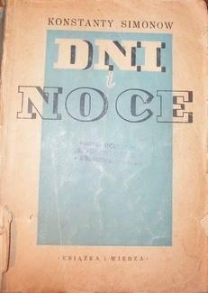 Okładka książki Dni i noce