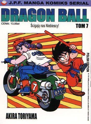 Okładka książki Dragon Ball tom 7. Ścigają nas Niebiescy!