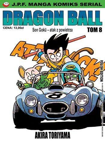 Okładka książki Dragon Ball tom 8. Son Goku - atak z powietrza