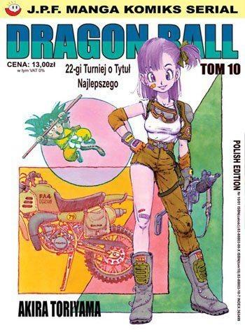 Okładka książki Dragon Ball tom 10. 22-gi Turniej o Tytuł Najlepszego
