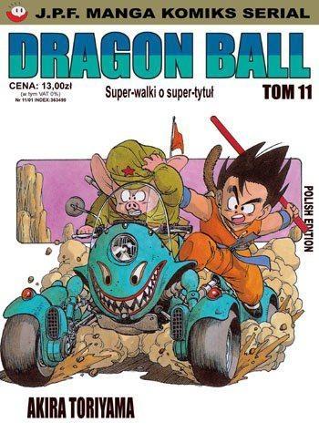 Okładka książki Dragon Ball tom 11. Super-walki o super-tytuł