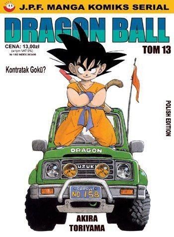 Okładka książki Dragon Ball tom 13. Kontratak Goku?