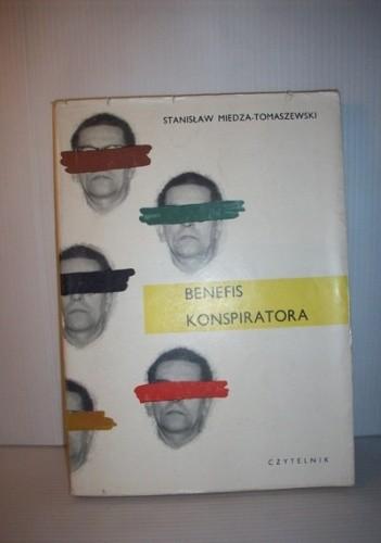 Okładka książki Benefis konspiratora