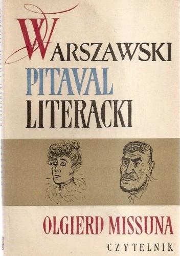 Okładka książki Warszawski Pitival Literacki