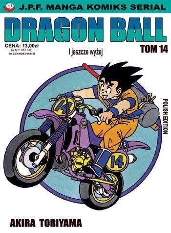 Okładka książki Dragon Ball tom 14. I jeszcze wyżej