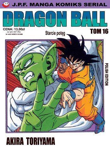Okładka książki Dragon Ball tom 16. Starcie potęg