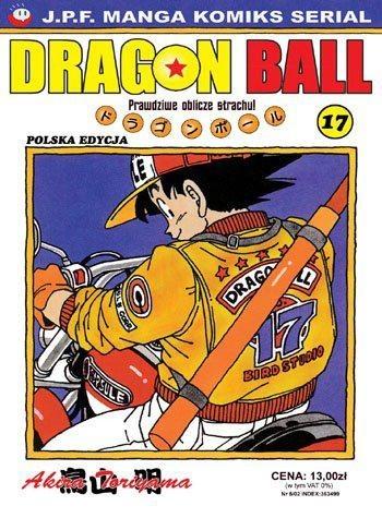 Okładka książki Dragon Ball tom 17. Prawdziwe oblicze strachu!