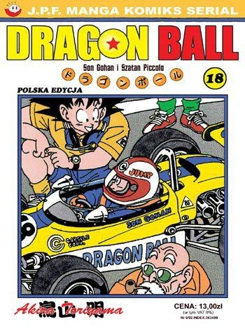 Okładka książki Dragon Ball tom 18. Son Gohan i Piccolo