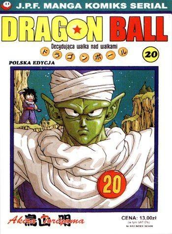 Okładka książki Dragon Ball tom 20. Decydująca walka nad walkami
