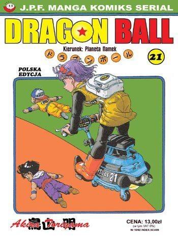 Okładka książki Dragon Ball tom 21. Kierunek: Planeta Namek