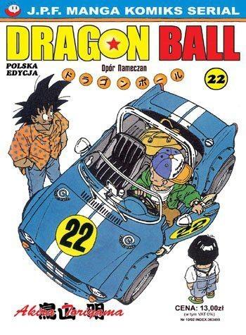 Okładka książki Dragon Ball tom 22. Opór Nameczan