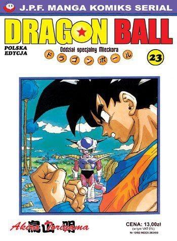 Okładka książki Dragon Ball tom 23. Oddział specjalny Mleckora