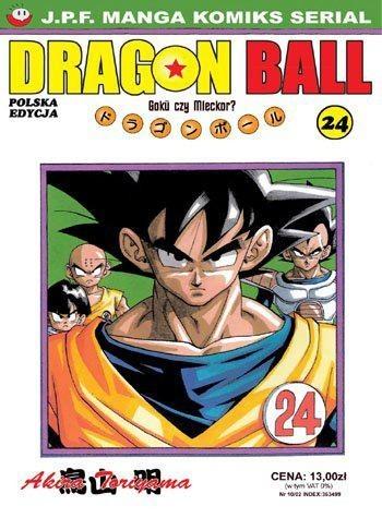 Okładka książki Dragon Ball tom 24. Goku czy Mleckor?