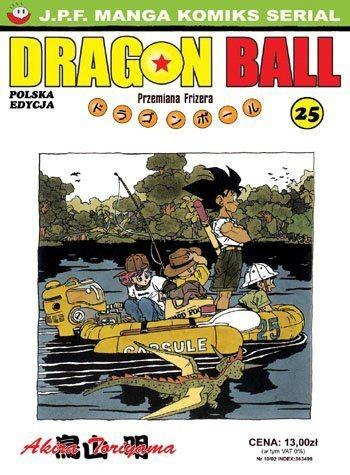 Okładka książki Dragon Ball tom 25. Przemiana Frizera
