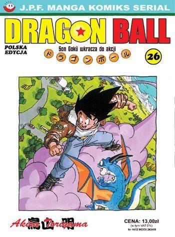 Okładka książki Dragon Ball tom 26. Son Goku wkracza do akcji