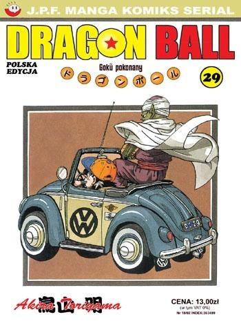 Okładka książki Dragon Ball tom 29. Goku pokonany
