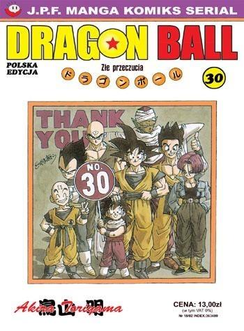 Okładka książki Dragon Ball tom 30. Złe przeczucia