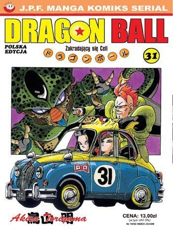 Okładka książki Dragon Ball tom 31. Zakradający się Cell