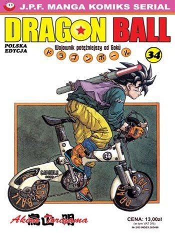 Okładka książki Dragon Ball tom 34. Wojownik potężniejszy od Goku