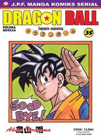Okładka książki Dragon Ball tom 35. Żegnajcie wojownicy