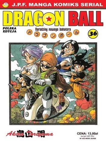Okładka książki Dragon Ball tom 36. Narodziny nowego bohatera