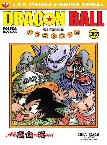 Okładka książki Dragon Ball tom 37. Plan Przybyszów