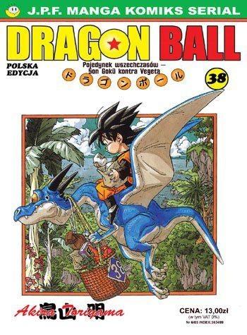 Okładka książki Dragon Ball tom 38. Pojedynek wszechczasów - Son Goku kontra Vegeta