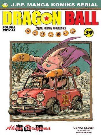 Okładka książki Dragon Ball tom 39. Żegnaj dumny wojowniku