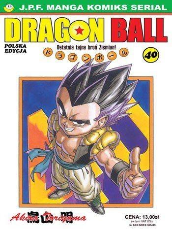 Okładka książki Dragon Ball tom 40. Ostatnia tajna broń Ziemian!