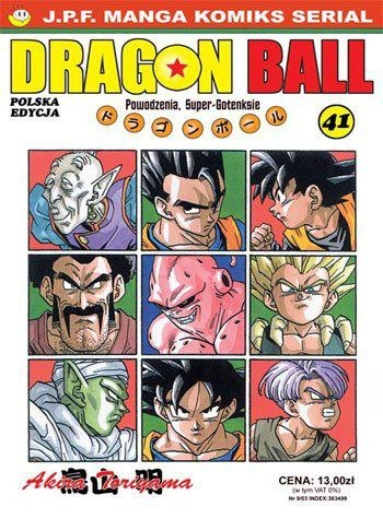 Okładka książki Dragon Ball tom 41. Powodzenia, Super-Gotenksie