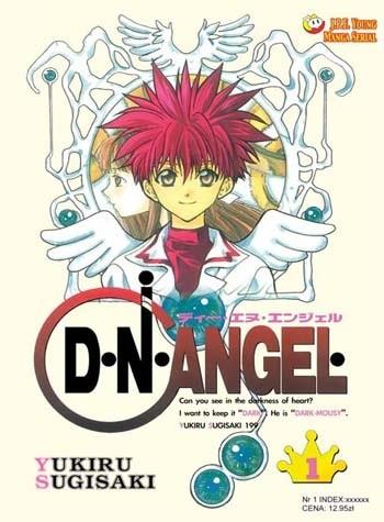 Okładka książki D.N.Angel tom 1