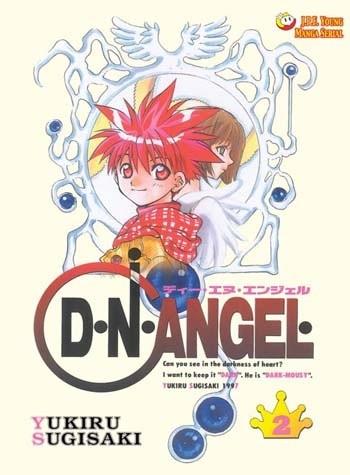 Okładka książki D.N.Angel tom 2