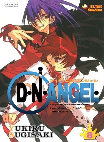 Okładka książki D.N.Angel tom 8