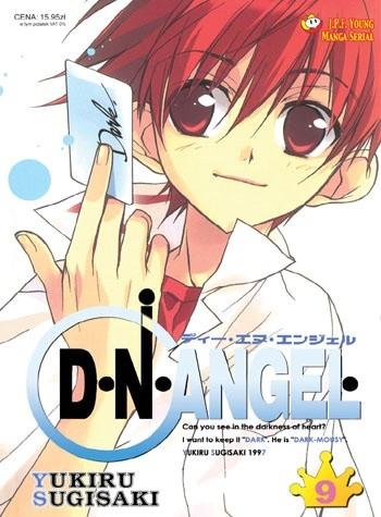 Okładka książki D.N.Angel tom 9