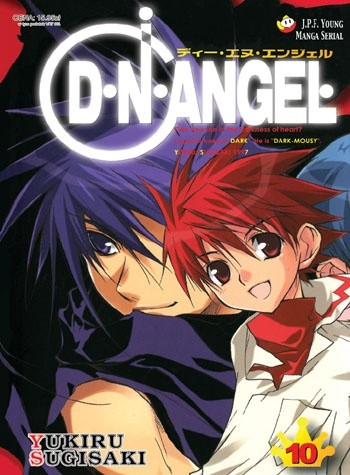 Okładka książki D.N.Angel tom 10