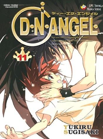 Okładka książki D.N.Angel tom 11