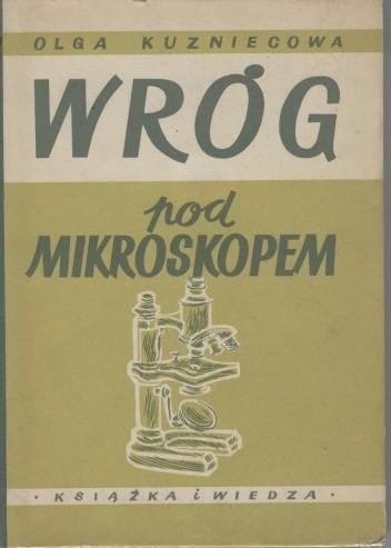 Okładka książki Wróg pod mikroskopem