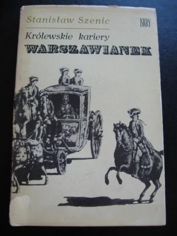 Okładka książki Królewskie kariery warszawianek