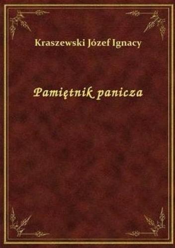 Okładka książki Pamiętnik panicza