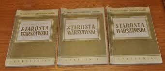 Okładka książki Starosta warszawski t. III