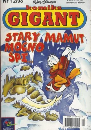 Okładka książki Gigant 12/98: Stary mamut mocno śpi