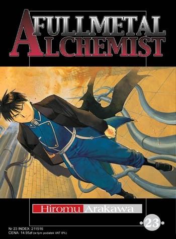 Okładka książki Fullmetal Alchemist t. 23