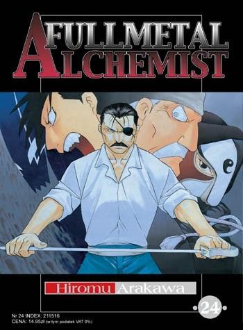 Okładka książki Fullmetal Alchemist t. 24