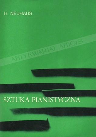 Okładka książki Sztuka pianistyczna. Notatki pedagoga