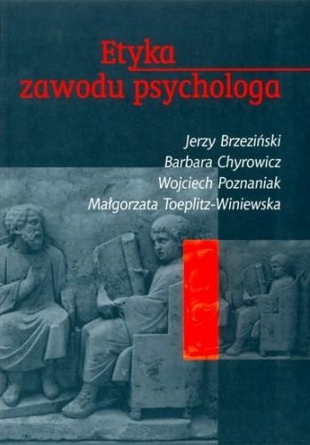 Okładka książki Etyka zawodu psychologa